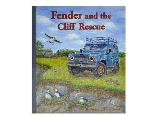 FENDER AND THE CLIFF RESCUE - HARDBACK BOOK