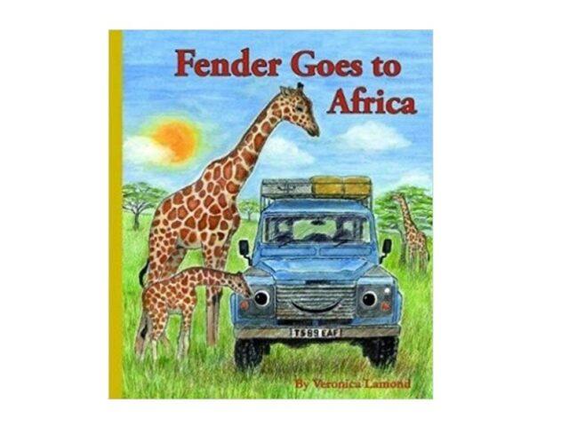 FENDER GOES TO AFRICA - HARDBACK BOOK