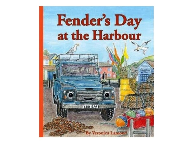 Fender's Day At The Harbour- Hardback Book