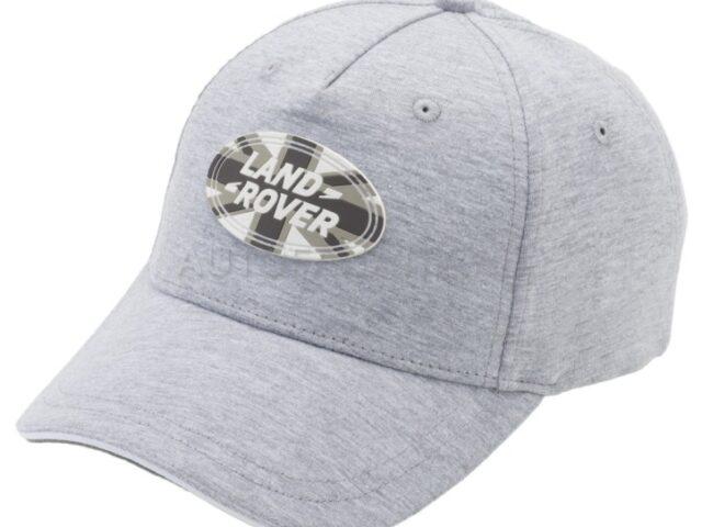 Union Jack Land Rover Baseball Cap - grey