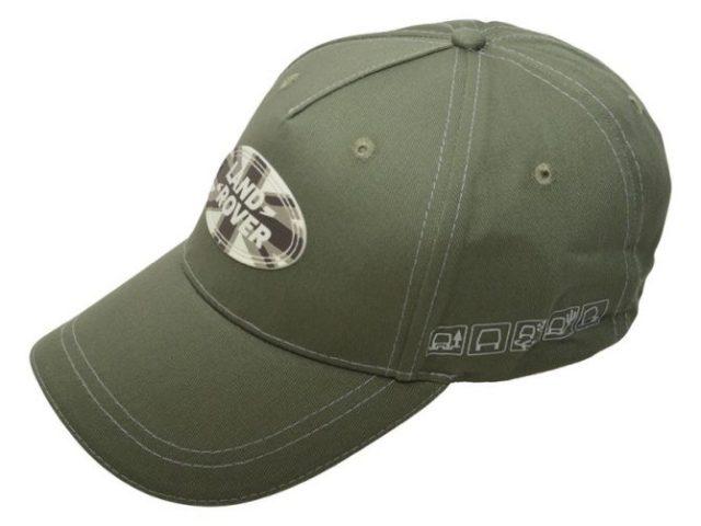 Union Jack Land Rover Baseball Cap - Green