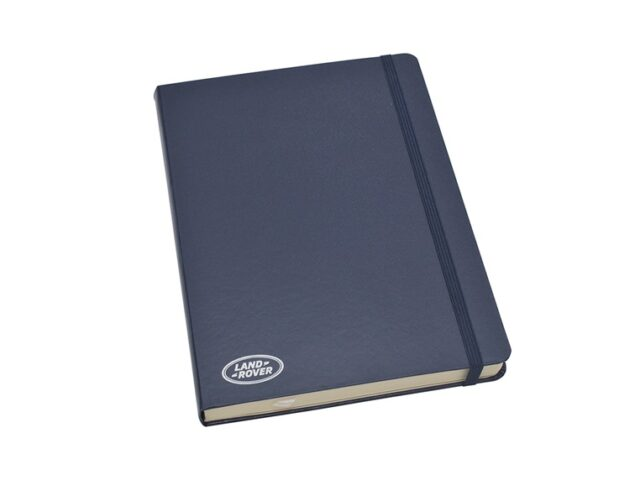 Land Rover Note Book - LARGE NAVY