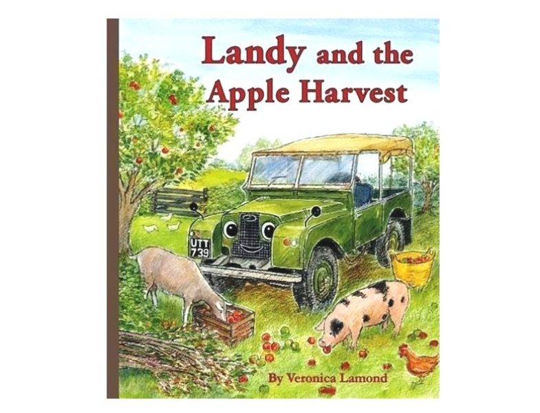 Landy and the apple harvest - HARDBACK BOOK