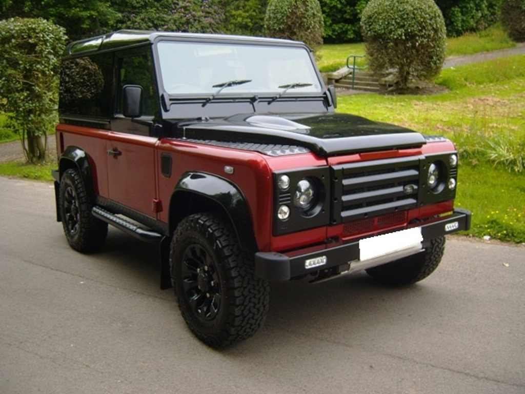 Lhd Land Rover Defender 90 Tdi Autobiography Edition