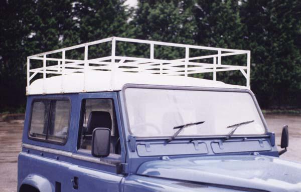 Galvanised Box Section Roof Rack Simmonites