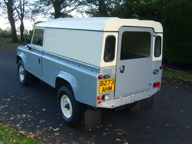 1984 Land Rover Defender 110 2 5 Petrol Simmonites