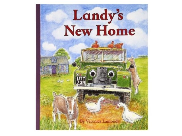 Landy's New Home- Hardback Book