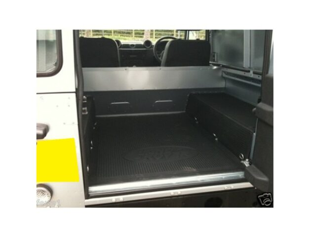 90 Rear Rubber Mat With Sides