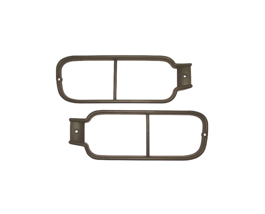DISCOVERY 2 REAR BUMPER LIGHT GUARDS