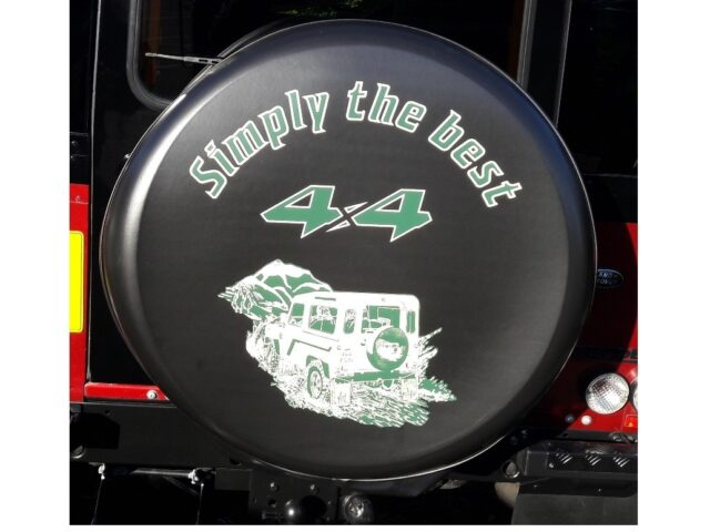 Spare Wheel Cover simply the best HARD VINYL FACE (Copy)