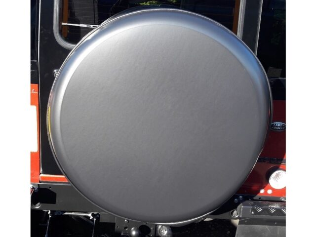 Spare Wheel Cover BLACK HARD VINYL FACE