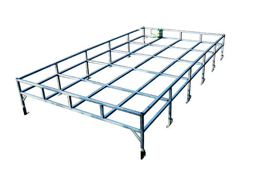 Galvanised Box Section Roof Rack FLAT FLOOR