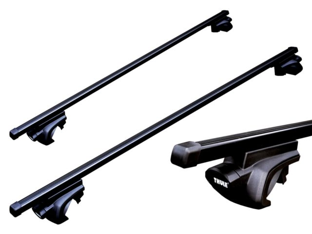 Thule roof bars raised roof rail fitment (cross bars)