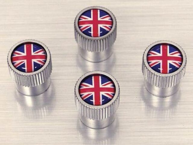 Land Rover Valve caps Union Jack