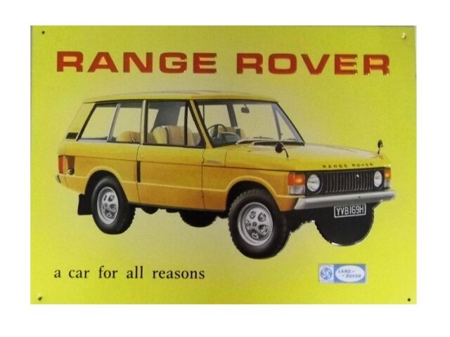 """collectable sign """" A car for all reasons"""""""