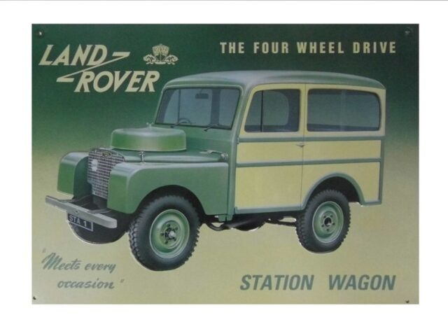 """collectable sign """" Station Wagon - Meets every occasion"""""""