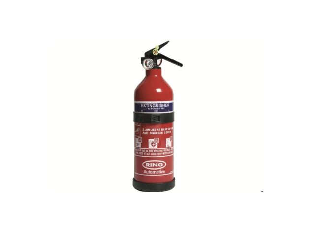 Land Rover Fire Extinguisher