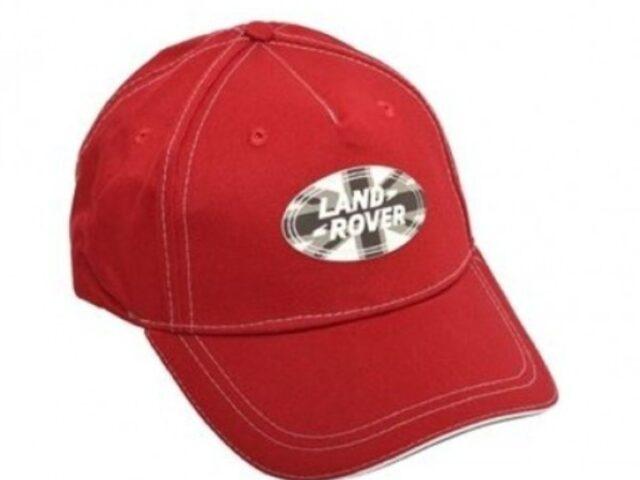 Union Jack Land Rover Baseball Cap -Red