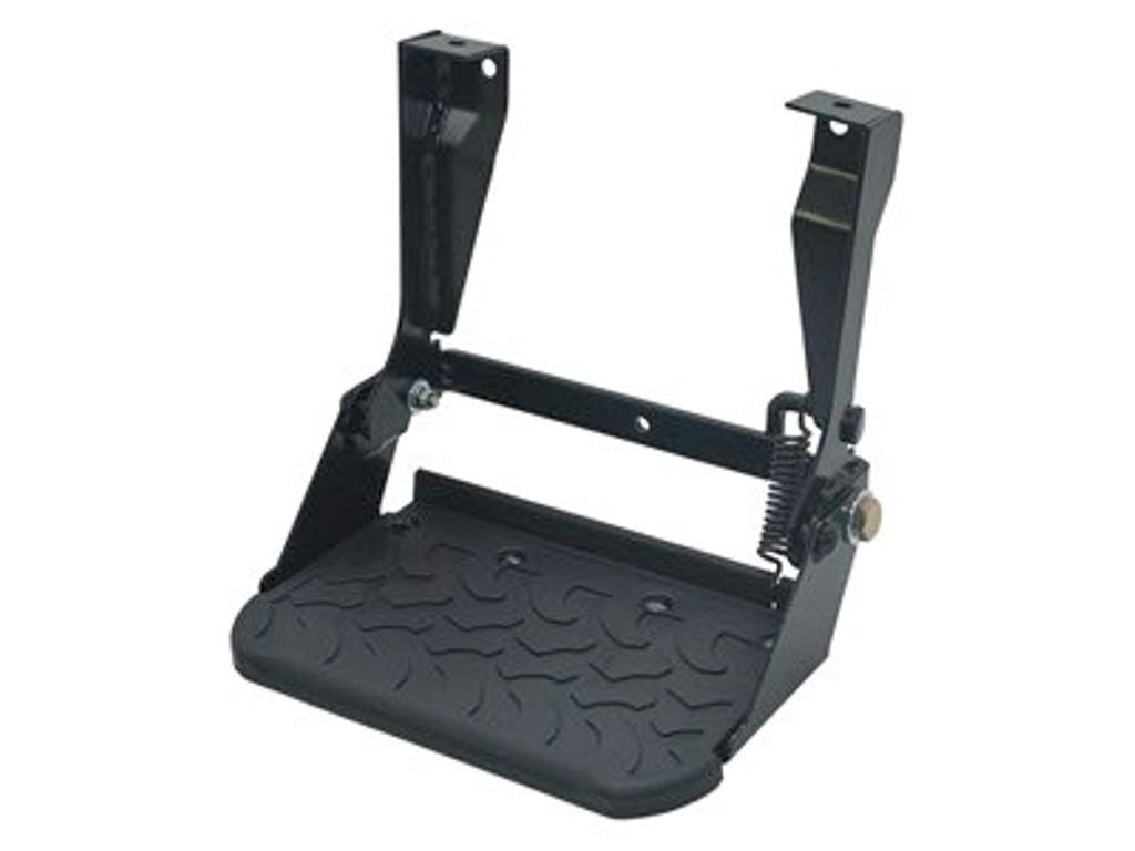 Single folding side / rear step