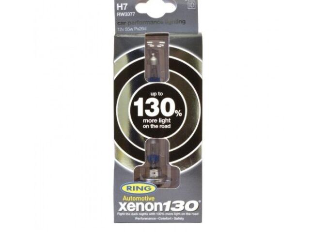 XENON 130% BRIGHTER HEADLAMP BULBS
