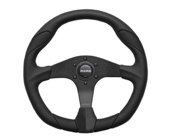 Momo Quark 350mm Steering Wheel with boss