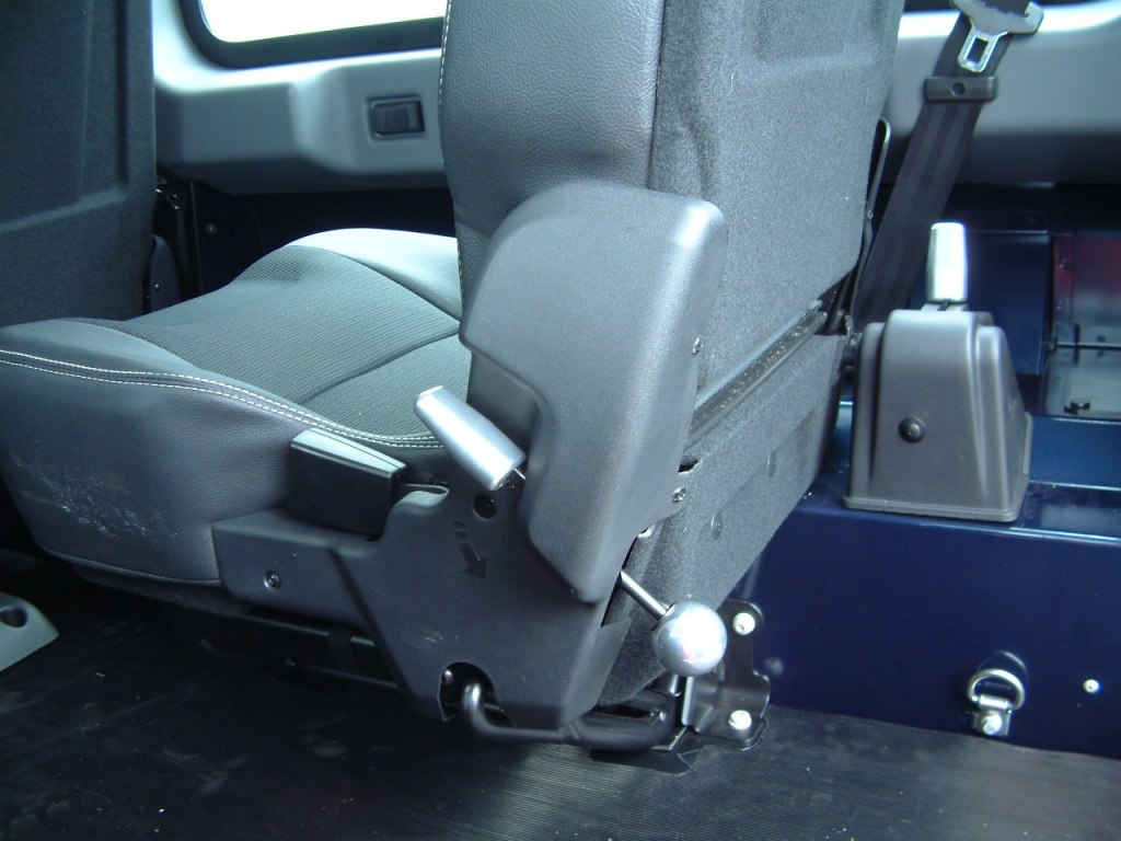 Polished Alloy Seat Handles
