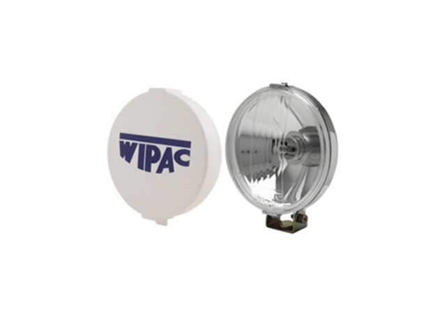 "Wipac Classic Style 5½"" Chrome Fog Lamps / driving lamps"