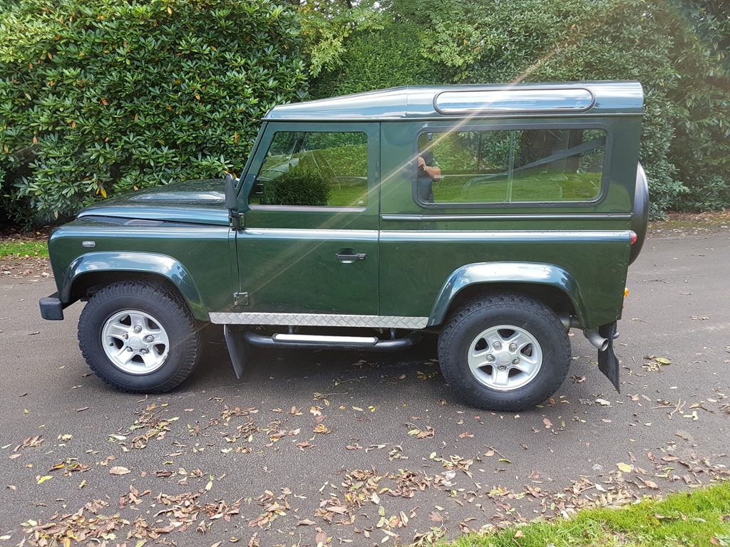 2009 Land Rover Defender 90 Tdci Xs County Station Wagon