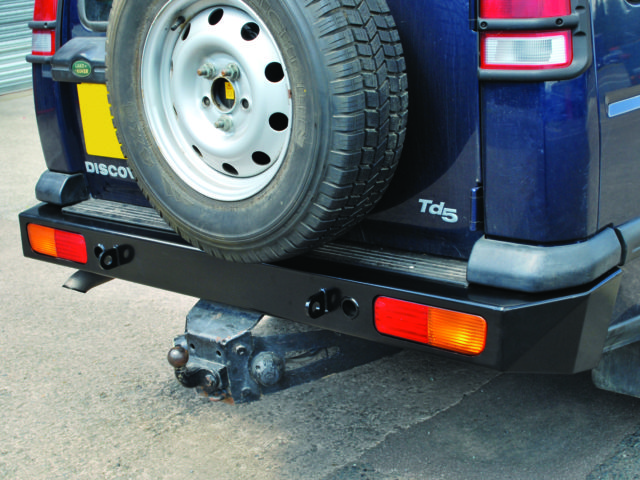 HEAVY DUTY REAR BUMPER DISCOVERY 2