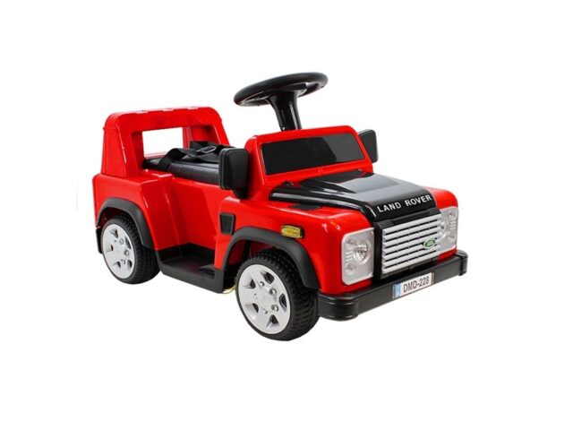 SIT ON TOY DEFENDER RED