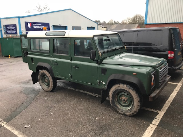 This is how the Defender looked before coming to Simmonites