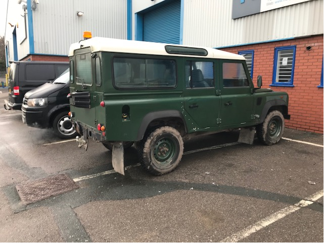 The Defender in the original state