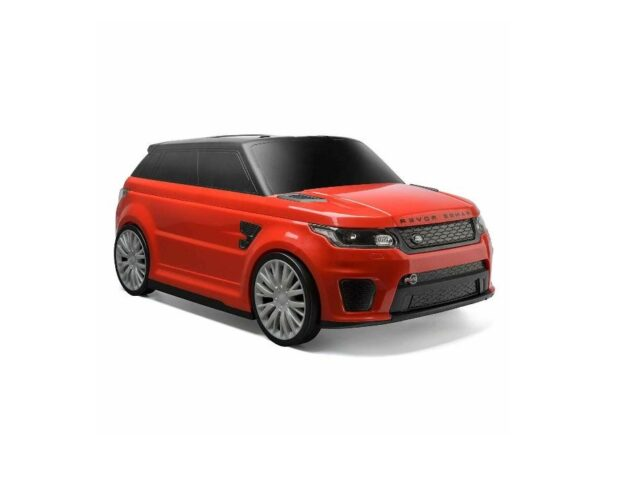 RIDE ON SUITCASE RANGE ROVER SPORT SVR - AVAILABLE IN RED / BLUE / WHITE