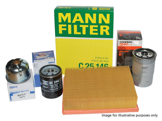 RANGE ROVER L405 SERVICE KITS OEM FILTERS AND SPARK/HEATER PLUGS