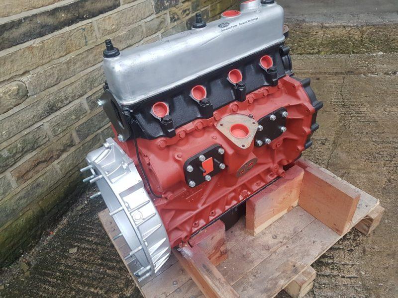 LAND ROVER SERIES 2.25 (5 BEARING) PETROL ENGINE