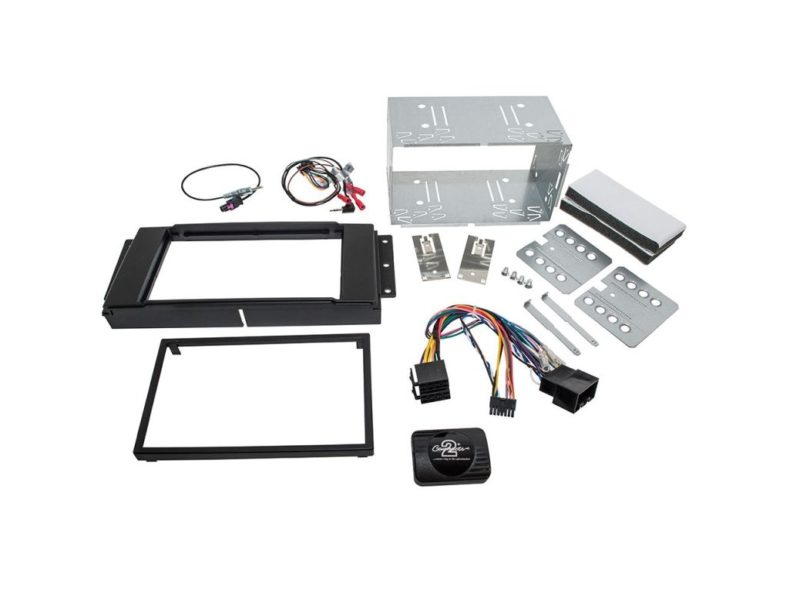 DOUBLE DIN RADIO INSTALL FASCIA - Freelander 2 - non-amplifed vehicles only
