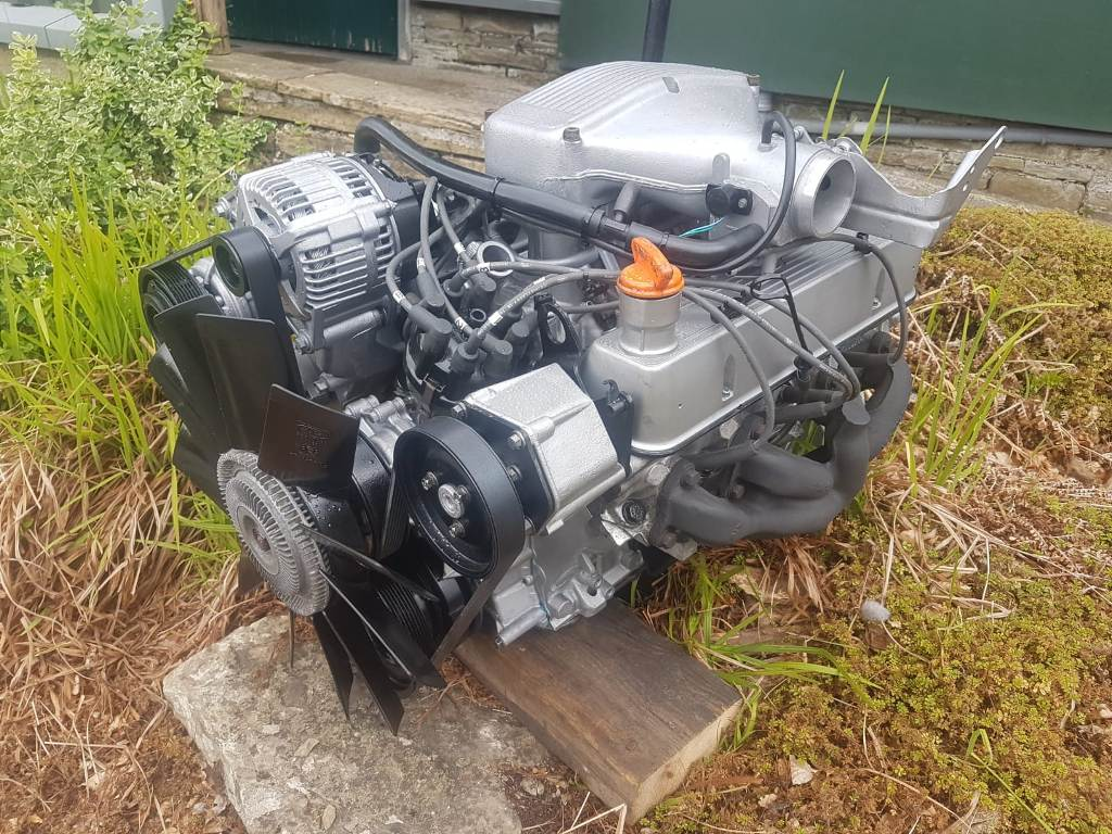 3.9 ROVER V8 SERPENTINE ENGINE LAND ROVER TAKE OUT UNIT