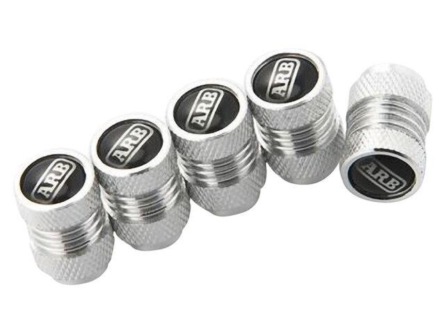 Silver ARB Tyre Valve Caps