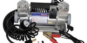 Portable air compressor (DOUBLE PUMP)