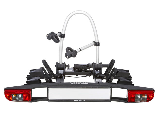Westfalia towbar mounted cycle carrier