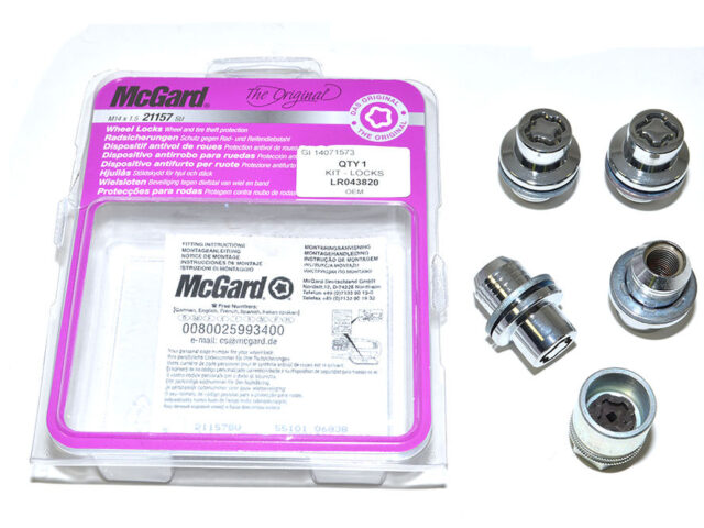 DISCOVERY 3 / 4 / 5 LOCKING WHEEL NUTS